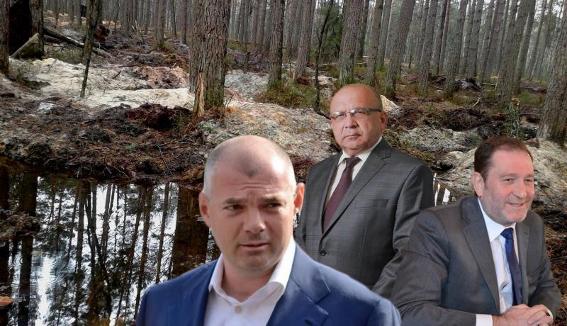 Претенденти на легальний волинський бурштиновидобуток: фірми і люди