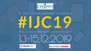 IJC19 - Investigative Journalism Conference -2019